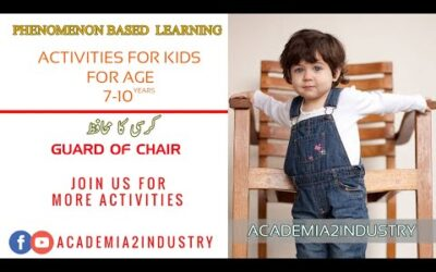Phenomenon Based Learning | Gaurd of Chair Game | Outdoor Activities for Kids | Academia2Industry