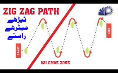 Zig Zag Path | Activity for Kids to Improve Gross Motor Skills | A2I Game Zone
