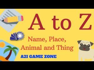 Activity For Kids With Full of Fun | A2I Game Zone | Rameez Ahmad Academia 2 Industry